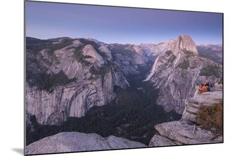 Half Dome and Yosemite Valley from Glacier Point, Yosemite National Park, California-Adam Burton-Mounted Photographic Print