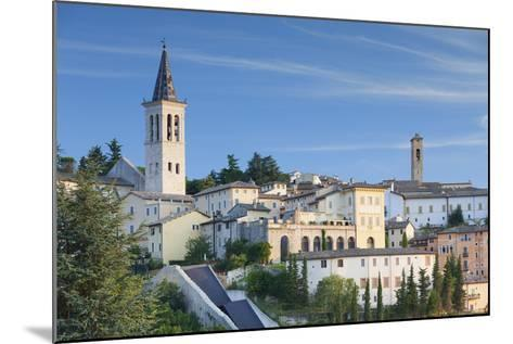 View of Spoleto, Umbria, Italy-Ian Trower-Mounted Photographic Print
