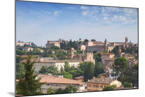 View of Perugia, Umbria, Italy-Ian Trower-Mounted Photographic Print