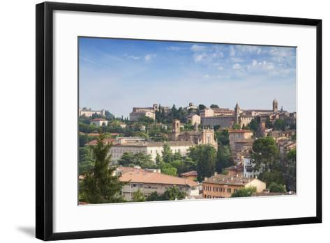 View of Perugia, Umbria, Italy-Ian Trower-Framed Art Print