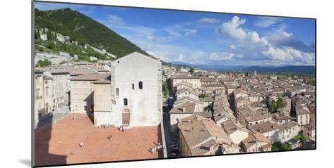 View of Gubbio, Umbria, Italy-Ian Trower-Mounted Photographic Print
