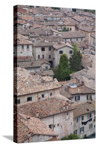 View of Gubbio, Umbria, Italy-Ian Trower-Stretched Canvas Print