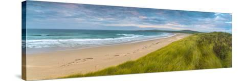 UK, Scotland, Argyll and Bute, Islay, Machir Bay from Sand Dunes-Alan Copson-Stretched Canvas Print