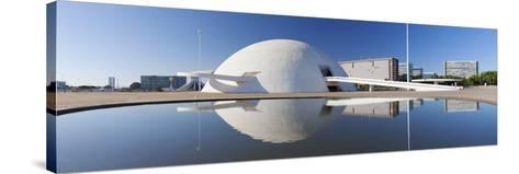 National Museum, Brasilia, Federal District, Brazil-Ian Trower-Stretched Canvas Print