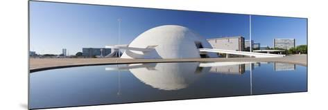 National Museum, Brasilia, Federal District, Brazil-Ian Trower-Mounted Photographic Print