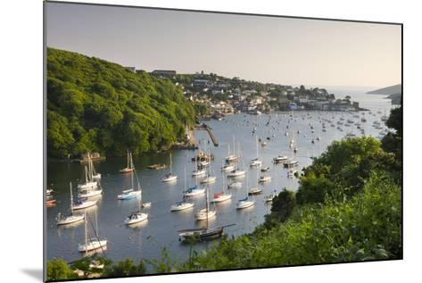 Pont Pill, Polruan and the Fowey Estuary from Hall Walk Near Bodinnick, Cornwall, England. Summer-Adam Burton-Mounted Photographic Print