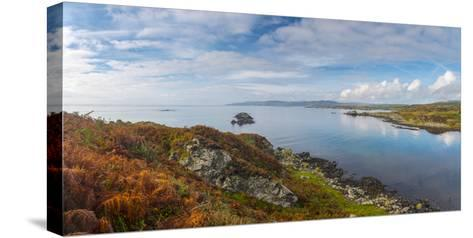 UK, Scotland, Argyll and Bute, Islay, Loch Laphroaig Beside Laphroaig Distillery-Alan Copson-Stretched Canvas Print
