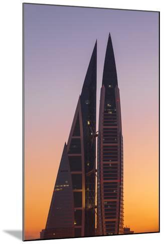 Bahrain, Manama, Bahrain World Trade Center-Jane Sweeney-Mounted Photographic Print