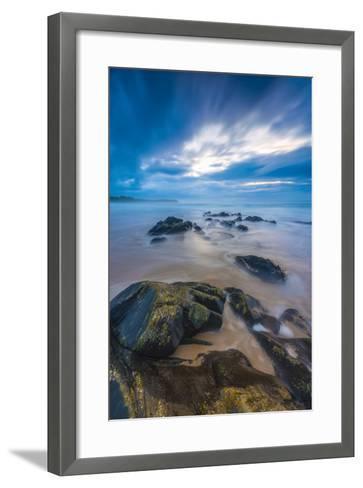 UK, Scotland, Argyll and Bute, Islay, Saligo Bay-Alan Copson-Framed Art Print