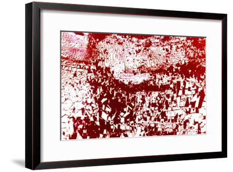 Study for NA_2 [Everybody Run!], 2002-Kika Pierides-Framed Art Print