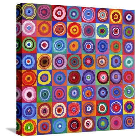 In Square Circle 64 after Kandinsky, 2012-David Newton-Stretched Canvas Print
