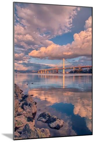 Bay Bridge Cloudscape, Oakland, California--Mounted Photographic Print