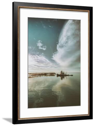 Polaris Cloudscape, Northern California--Framed Art Print