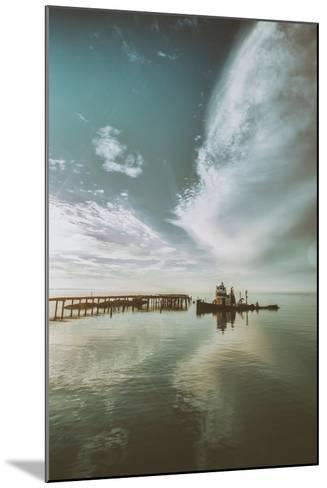 Polaris Cloudscape, Northern California--Mounted Photographic Print