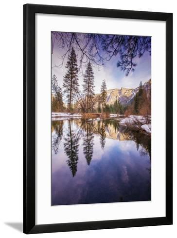 Winter Reflections in Yosemite Valley--Framed Art Print