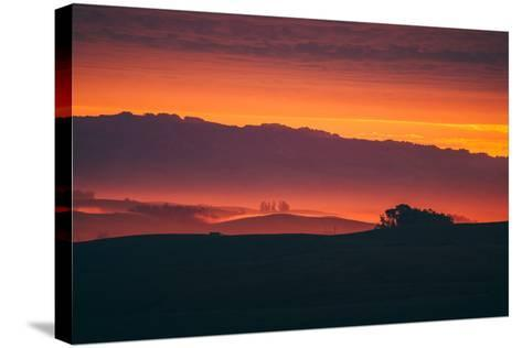 Magical Sun Layers, Petaluma, California--Stretched Canvas Print