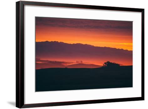 Magical Sun Layers, Petaluma, California--Framed Art Print