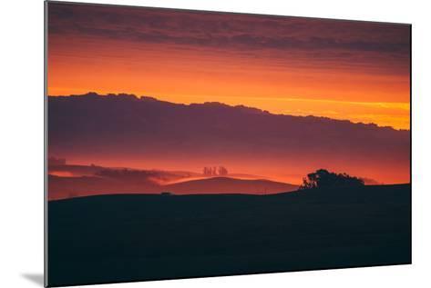Magical Sun Layers, Petaluma, California--Mounted Photographic Print