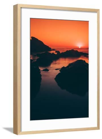Sonoma Coast Sunset, Northern California--Framed Art Print