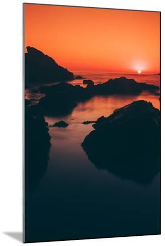 Sonoma Coast Sunset, Northern California--Mounted Photographic Print
