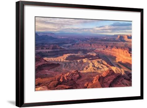 Morning Light at Dead Horse Point, Southern Utah--Framed Art Print