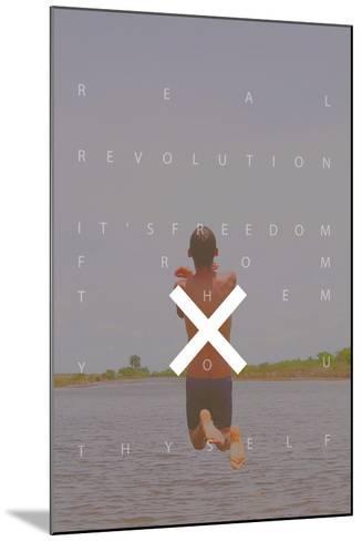 Freedom--Mounted Art Print
