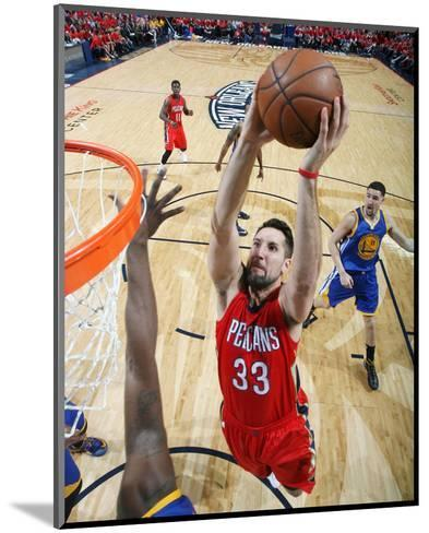 Golden State Warriors v New Orleans Pelicans - Game Three-Layne Murdoch-Mounted Photo