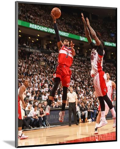 Washington Wizards v Toronto Raptors- Game Two-Ron Turenne-Mounted Photo