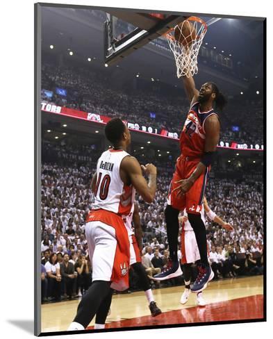 Washington Wizards v Toronto Raptors - Game One-Dave Sandford-Mounted Photo