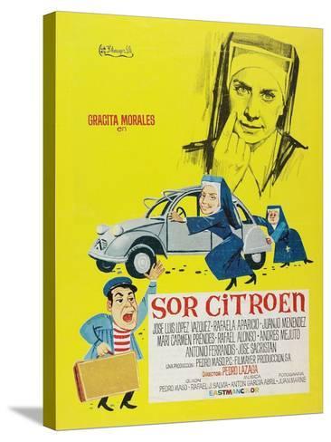 Sister Citroen, 1967 (Sor Citroën)--Stretched Canvas Print