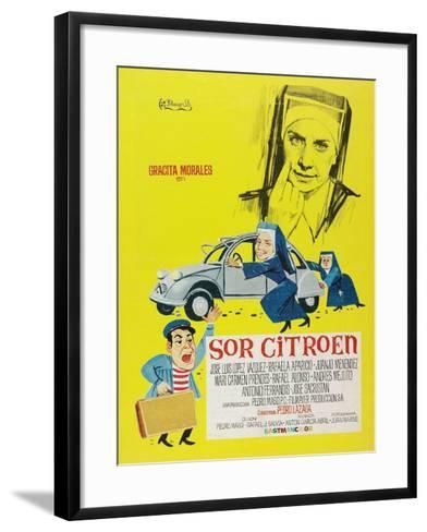 Sister Citroen, 1967 (Sor Citroën)--Framed Art Print