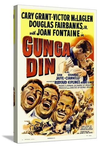 Gunga Din, 1939--Stretched Canvas Print