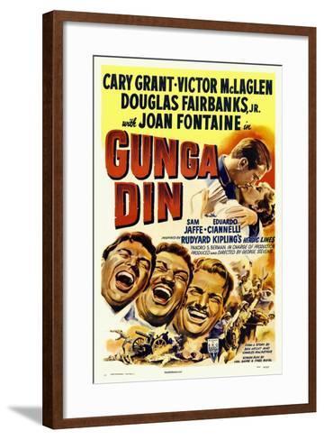 Gunga Din, 1939--Framed Art Print