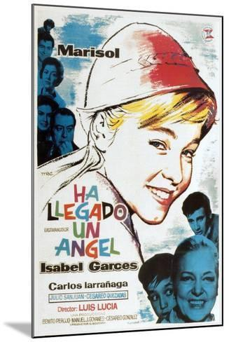 Ha Llegado Un Angel, 1961--Mounted Giclee Print