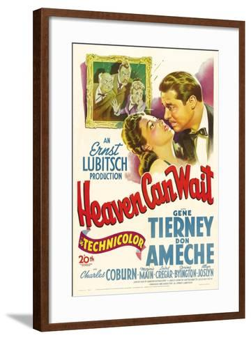 Heaven Can Wait, 1943--Framed Art Print