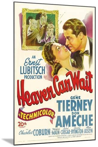 Heaven Can Wait, 1943--Mounted Giclee Print