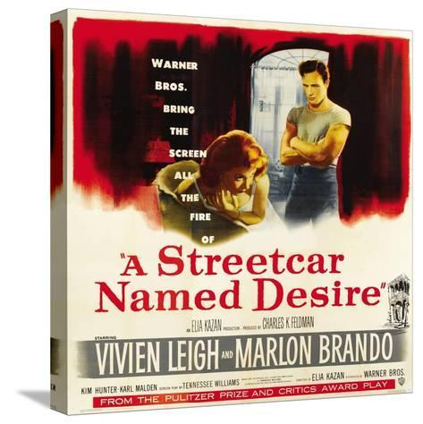A Streetcar Named Desire, 1951--Stretched Canvas Print