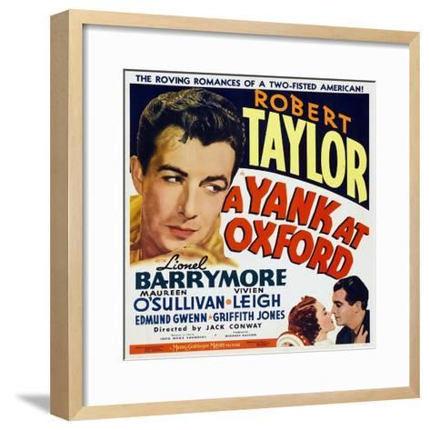 A Yank at Oxford, 1938--Framed Art Print