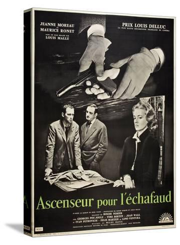Frantic, 1958 (Ascenseur Pour L'Echafaud)--Stretched Canvas Print