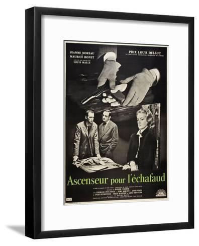Frantic, 1958 (Ascenseur Pour L'Echafaud)--Framed Art Print