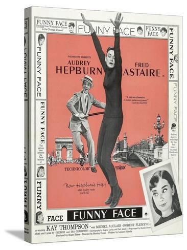 Funny Face, 1957--Stretched Canvas Print