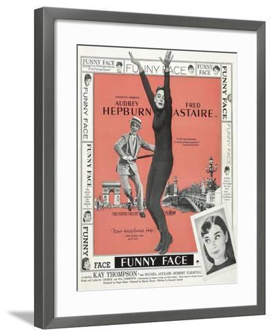 Funny Face, 1957--Framed Art Print