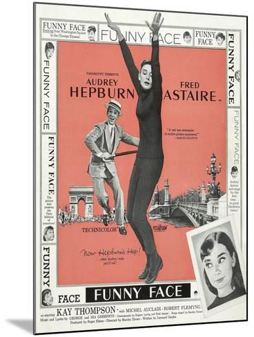 Funny Face, 1957--Mounted Giclee Print