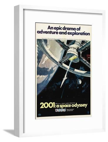 2001: A Space Odyssey, 1968--Framed Art Print