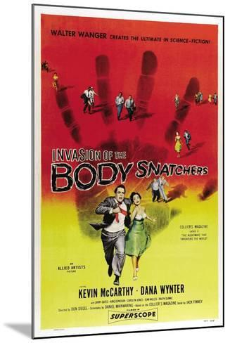 Invasion of the Body Snatchers, 1956--Mounted Giclee Print