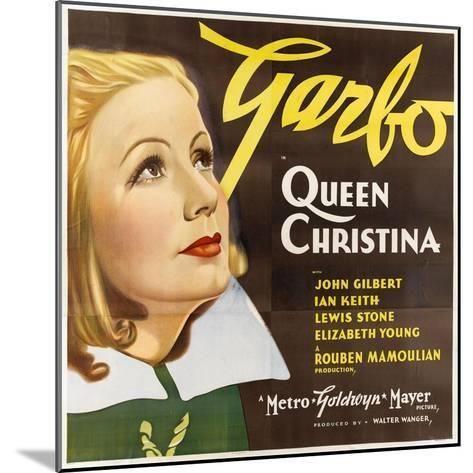 Queen Christina, 1933--Mounted Giclee Print