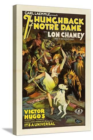 The Hunchback of Notre Dame, 1923--Stretched Canvas Print