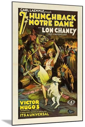 The Hunchback of Notre Dame, 1923--Mounted Giclee Print