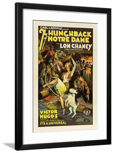 The Hunchback of Notre Dame, 1923--Framed Art Print