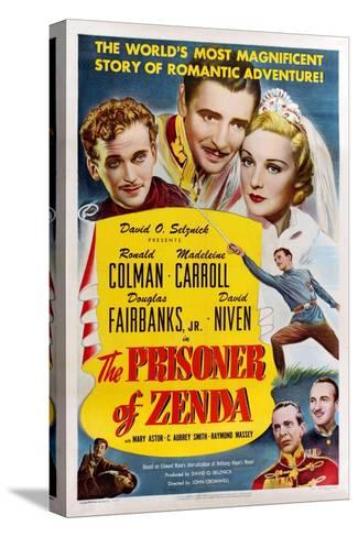 The Prisoner of Zenda, 1937--Stretched Canvas Print
